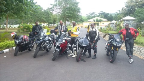 Ikogosi Tour, July 2014